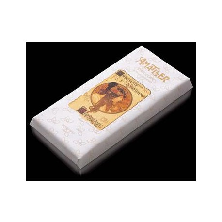 Tableta chocolate blanco - 85 gr - Xocolates Amatller
