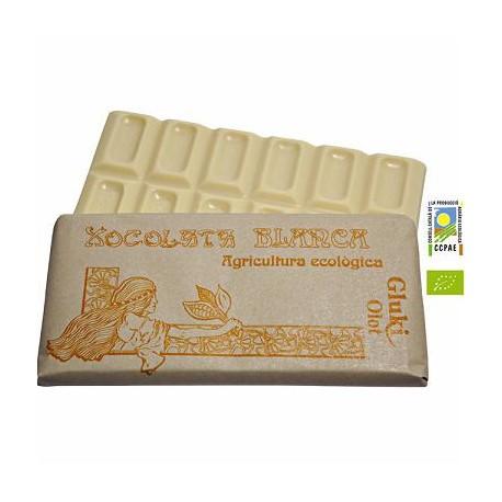 Chocolate blanco - 100 gr - Gluki