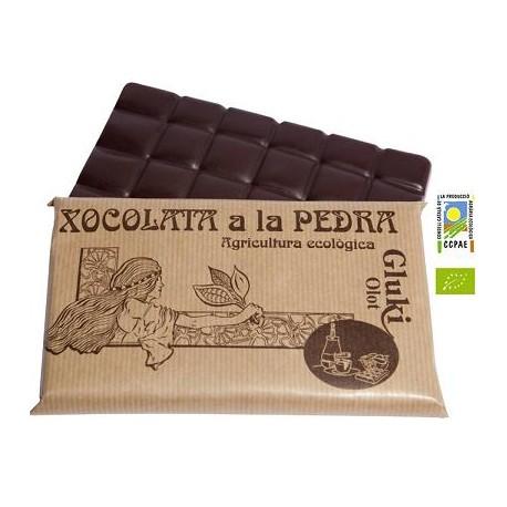 Xocolata a la pedra - 200 gr - Gluki