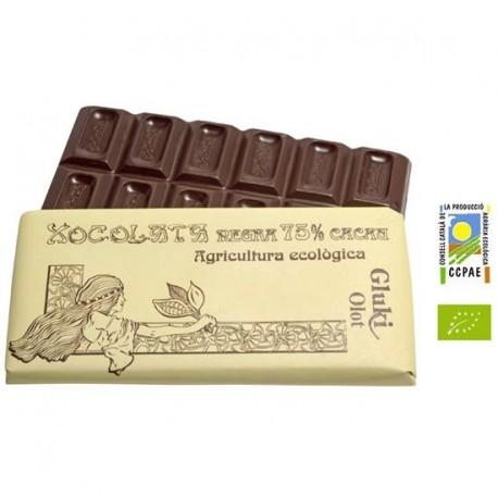 Dark chocolate, 75% - 100 gr - Gluki