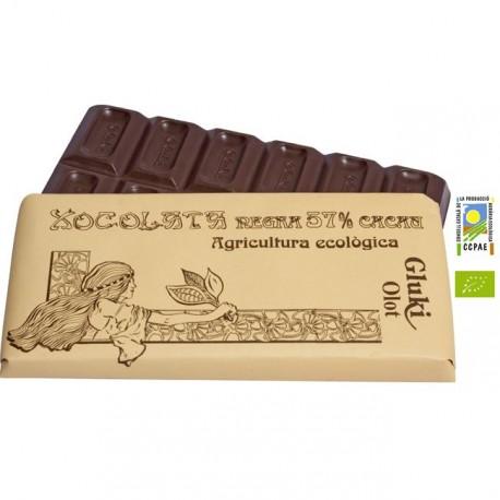 Chocolate negro - 57 % - 100 gr - Gluki