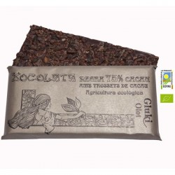 Dark chocolate 75% with cocoa-pieces- 100 gr - Gluki