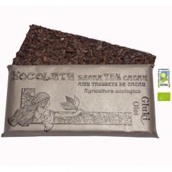 Xocolata negra 75% cacau amb trossets de cacau- 100 gr - Gluki