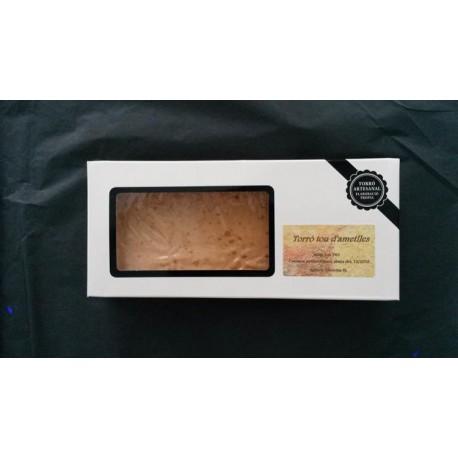 Turrón blando de almendras - 300 gr -Apícola Gironina