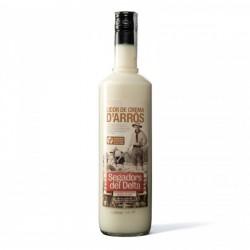 Cream liquor rice - 70cl - Segadors del Delta