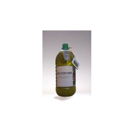 Oli d'oliva verge extra CoCons - Montsià - garrafa 2l
