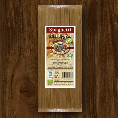 Egyptian Wheat Spaghetti Bio - 500 gr -Hort del Silenci