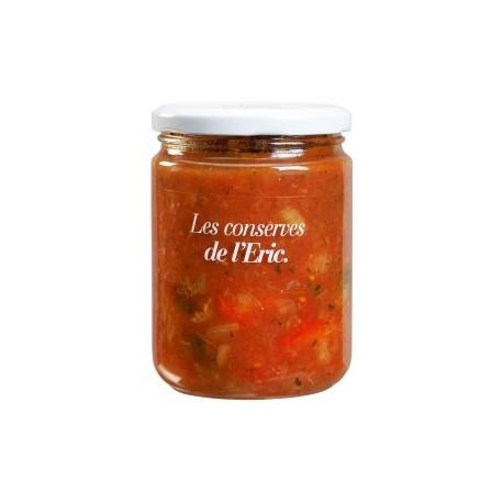 Tomato sauce and vegetables - 420 gr - Melmelades de l'Eric