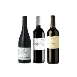 Caixa de 3 ampolles de vi negre - DO Priorat