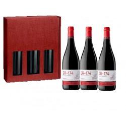 Caja regalo de 3 - GR 174 - CASA GRAN DEL SIURANA - DO Priorat - Tinto