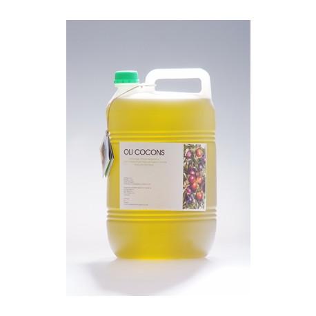 3 x 5L - Oli d'oliva verge extra CoCons - Montsià - 3 garrafes 5l