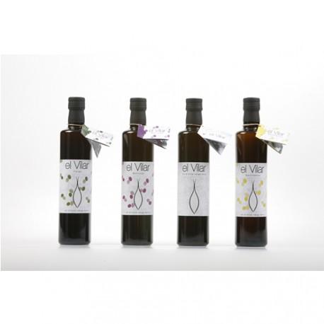 Caixa Oli El Vilar - La Galera - Montsià - 12 ampolles de 0,5 l