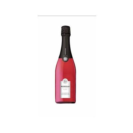 Caixa de 6 ampolles cava rosat - Bohigas