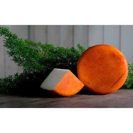 3 Quesos semi-curado de cabra rojo - 3x350 gr - Formatges de Muntanyola