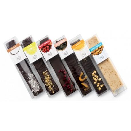 4 torrons format 130 gr a escollir - Vallflorida xocolaters