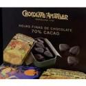 Caixa amb 20 llaunes de fulles de xocolata, 20x35 gr - Xocolates Amatller