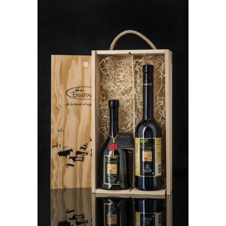 Oli Ermitage - Caixa regal dues ampolles AURUM Classic - 2x500ml