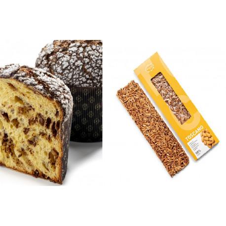 Panettone de xocolata 500g i toscano - Vallflorida xocolaters