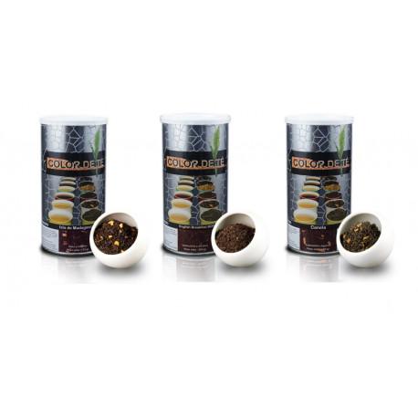 3 llaunes Tè negre - 3 x 175 gr - Cafè Mamasame