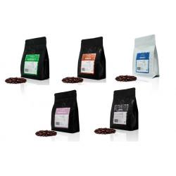 5 paquetes café en grano de 250 gr - 5 x 250 gr - Cafe Mamasame