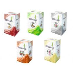 5 cajas Te Premium con piramides 5 x 20 unidades - Cafe Mamasame